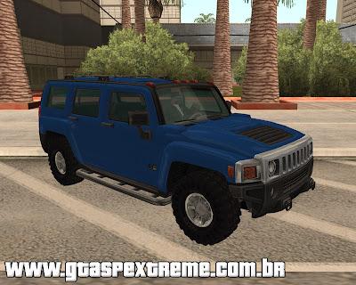 Hummer H3 para grand theft auto