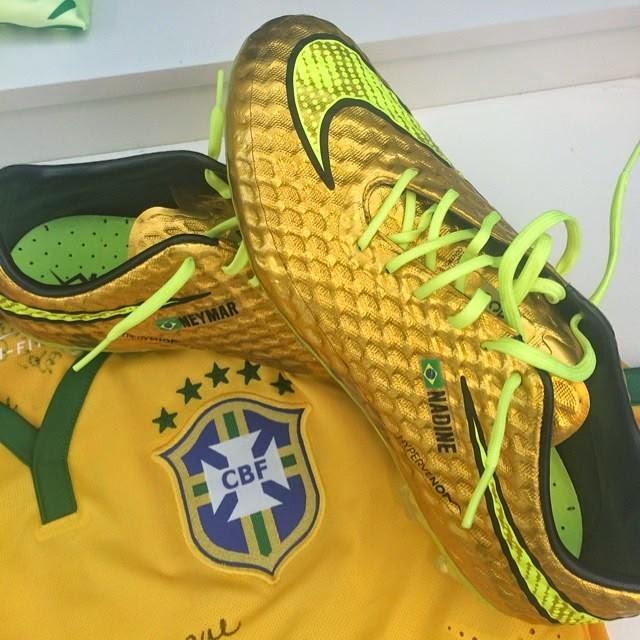 41fc158d8f Neymar vai estrear chuteira inspirada em Robinho contra o Chile neste  sábado(Vídeo)