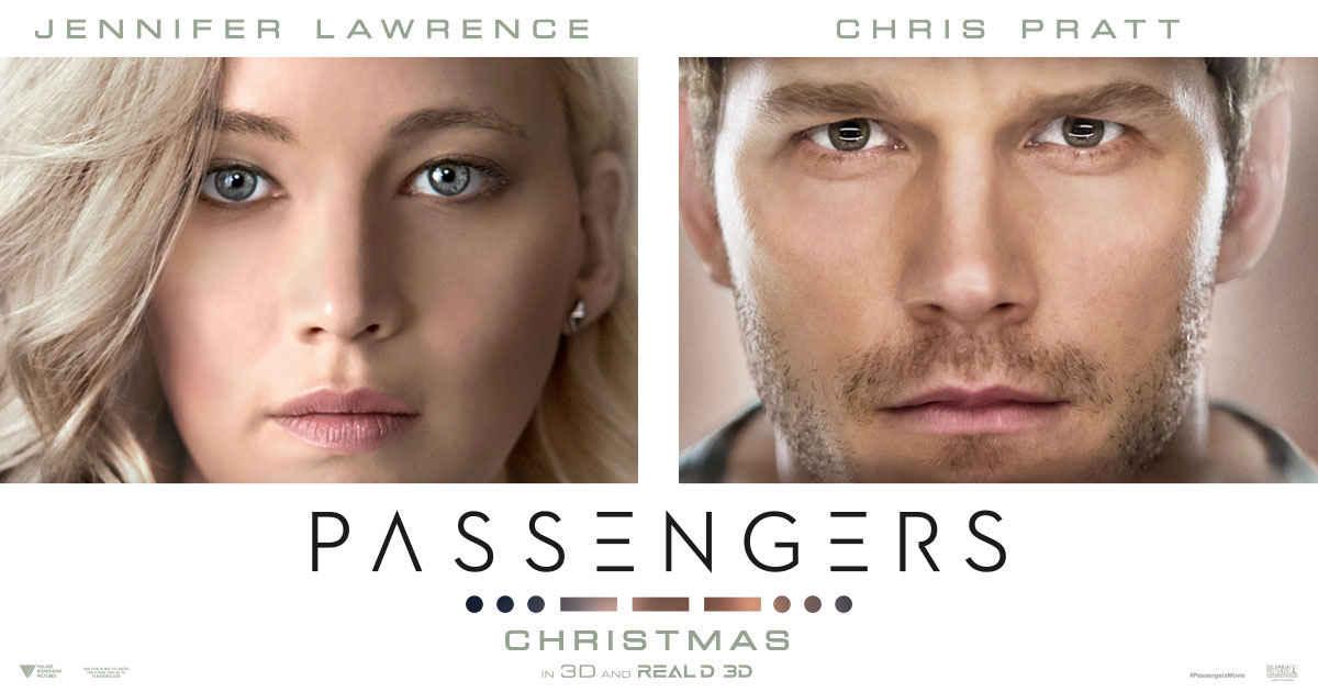 Passengers (2016) Hindi Dual Audio 720p BluRay 1.2GB