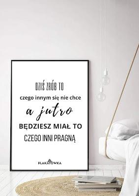 plakaty z tekstami do druku