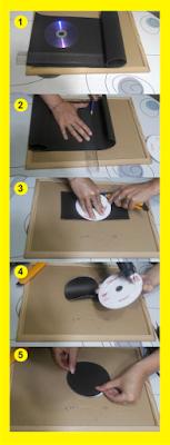 Como hacer una lámpara de cartón