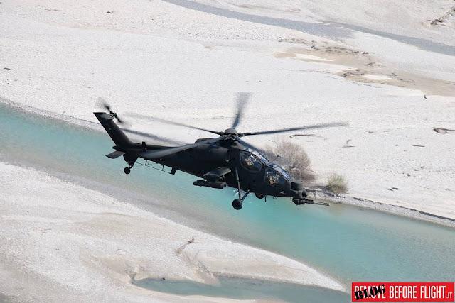 Elicottero Mangusta ricerca soccorso
