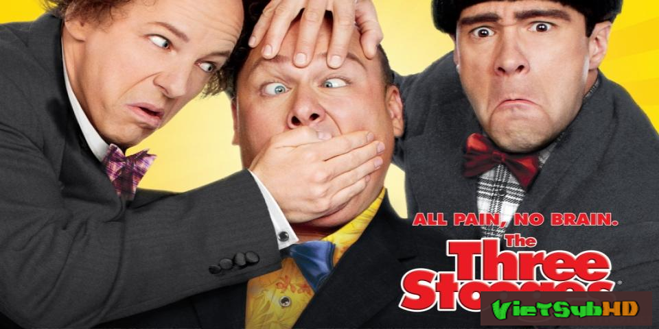 Phim 3 Chàng Ngốc VietSub HD | The Three Stooges 2012