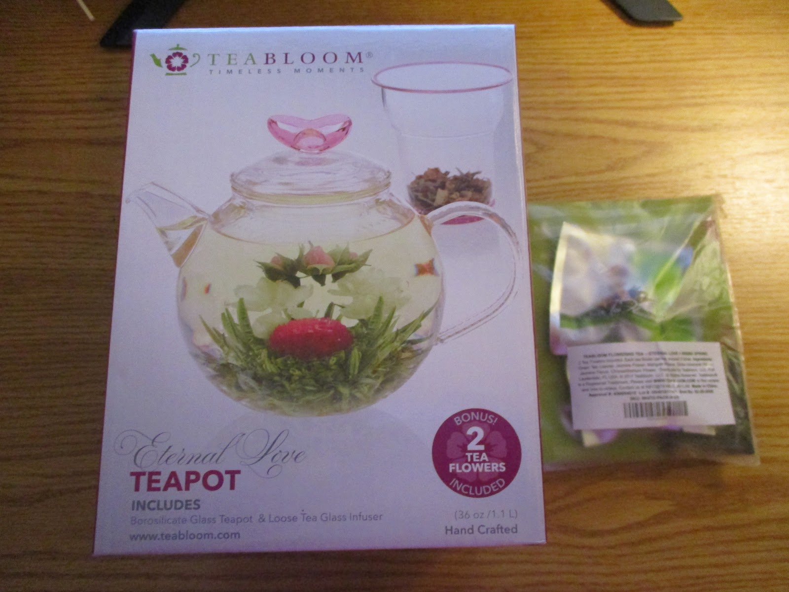 Missys product reviews teabloom jasmine flowering tea eternal love teabloom jasmine flowering tea eternal love rising spring blooming teas izmirmasajfo