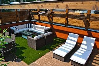 balcón estilo moderno