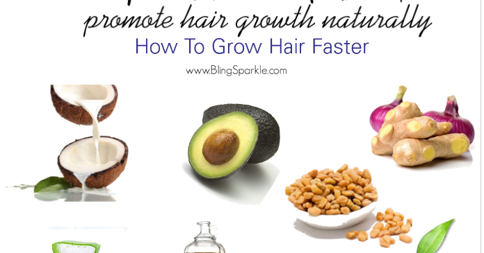 how to grow hair naturally faster