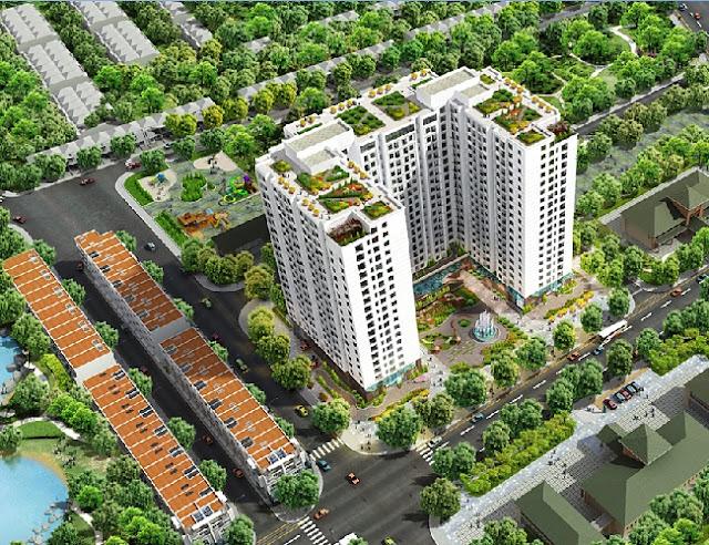 Phối cảnh chung cư 82 Nguyễn Tuân