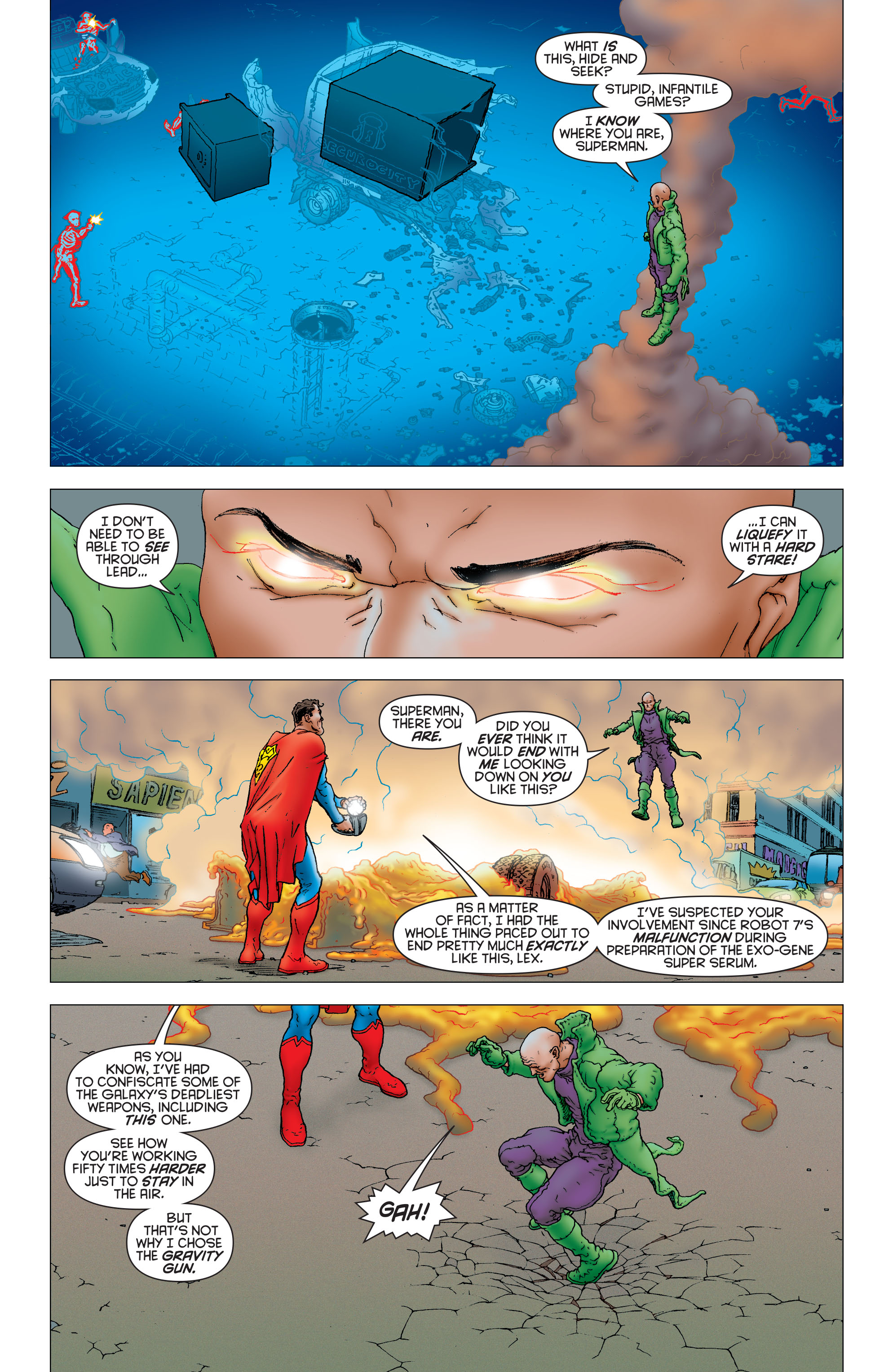 Read online All Star Superman comic -  Issue #12 - 13