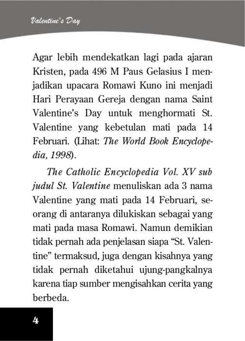sejarah terjadinya hari valentine