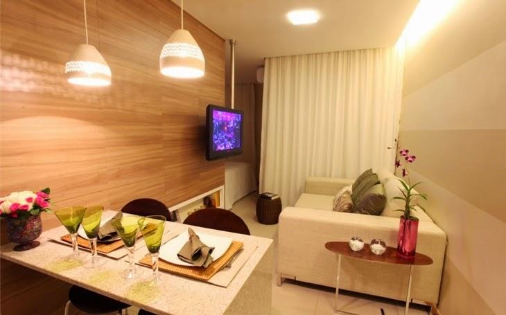 ilumine e valorize a decoração de ambientes pequenos