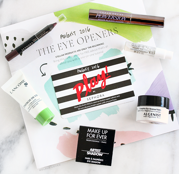 Play by Sephora, Play! by Sephora, Sephora Play, Sephora, Sephora Beauty Box, Play by Sephora Unboxing, Play by Sephora Review #SephoraPlay
