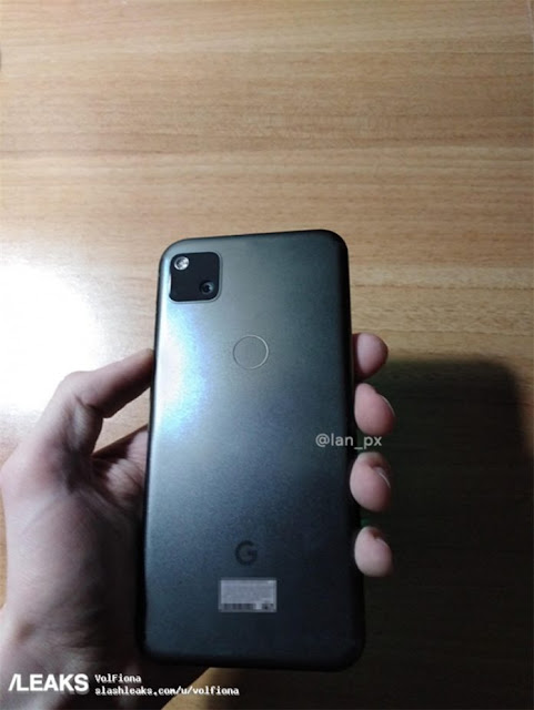 Google Pixel 4a gerçek hayattaki görüntü sızıntısı, akıllı telefonun tasarımını sergiliyor