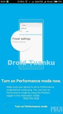 Cara Mengaktifkan Mode Performance Redmi 3 Pro (Tanpa Root)