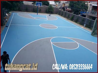 Cat Lapangan Basket Sekolah SMPN 164 Kebayoran