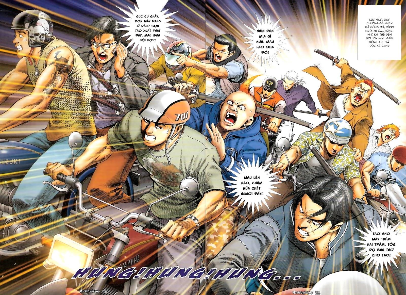 Người Trong Giang Hồ - Chapter 1217: Trận chiến cuối cùng - Pic 21