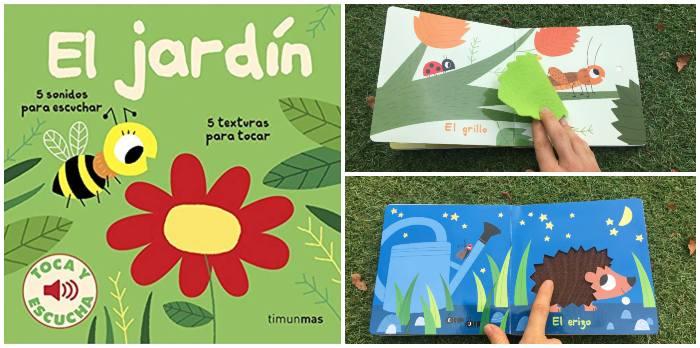 mejores cuentos libros infantiles de 0 a 3 años El jardín toca y escucha música