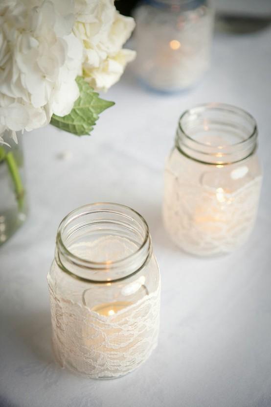 Diy 10 Diy Mason Jar Wedding Ideas Oh Lovely Day Chandra Fredrick