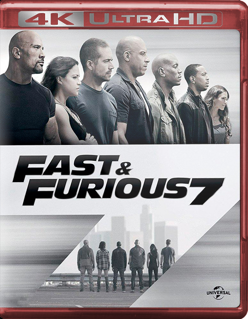Fast & Furious 7 [2015] [UHD] [2160p] [Latino]