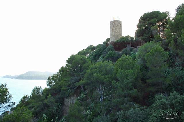Torre del Homenaje del Castillo de san Juan de Lloret de Mar