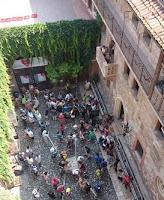 Patio y Balcón de la Casa de Julieta en Verona.