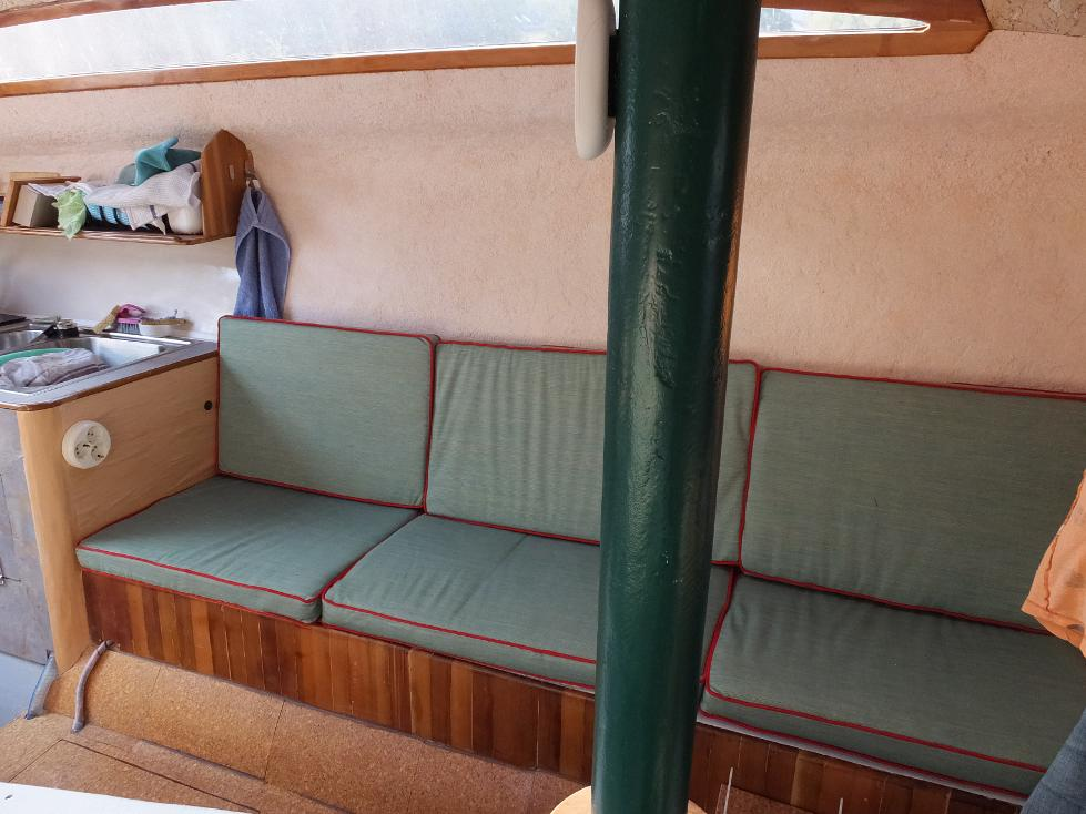 Sitzbank Backbord