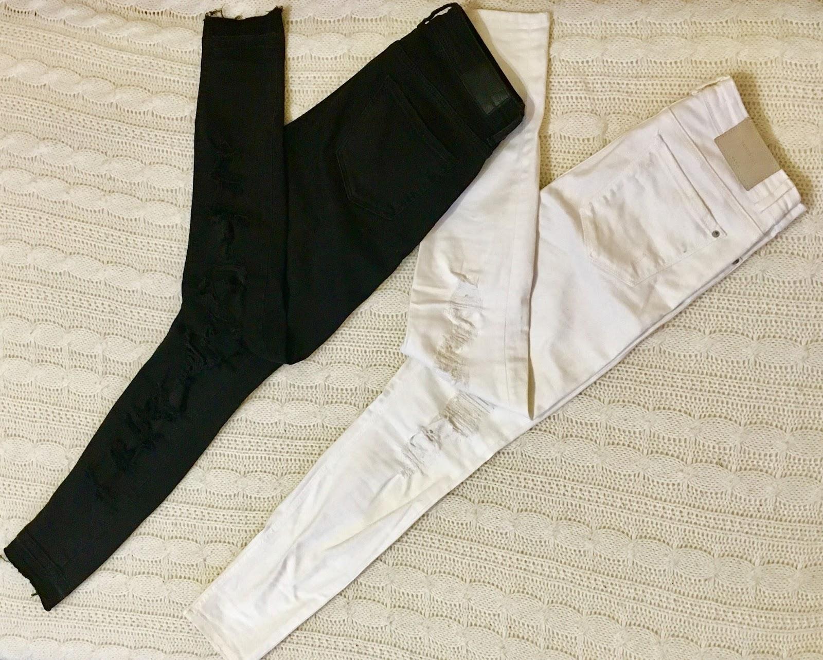 67e8c18f3fe9 Čierne BERSHKA nohavice -30€