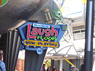 Monsters Inc Laugh Floor Original Sign