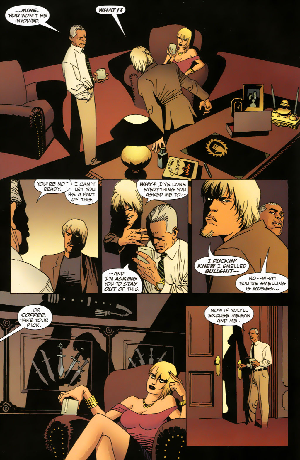 Read online 100 Bullets comic -  Issue #63 - 5