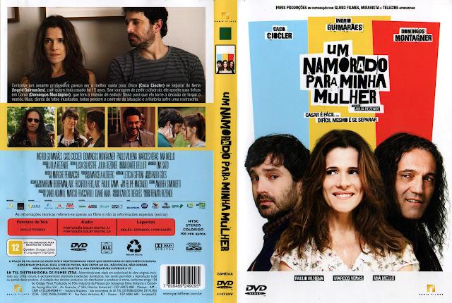 Capa DVD Um Namorado Para Minha Mulher (Oficial)
