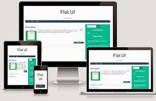 Flat UI Blogger Template