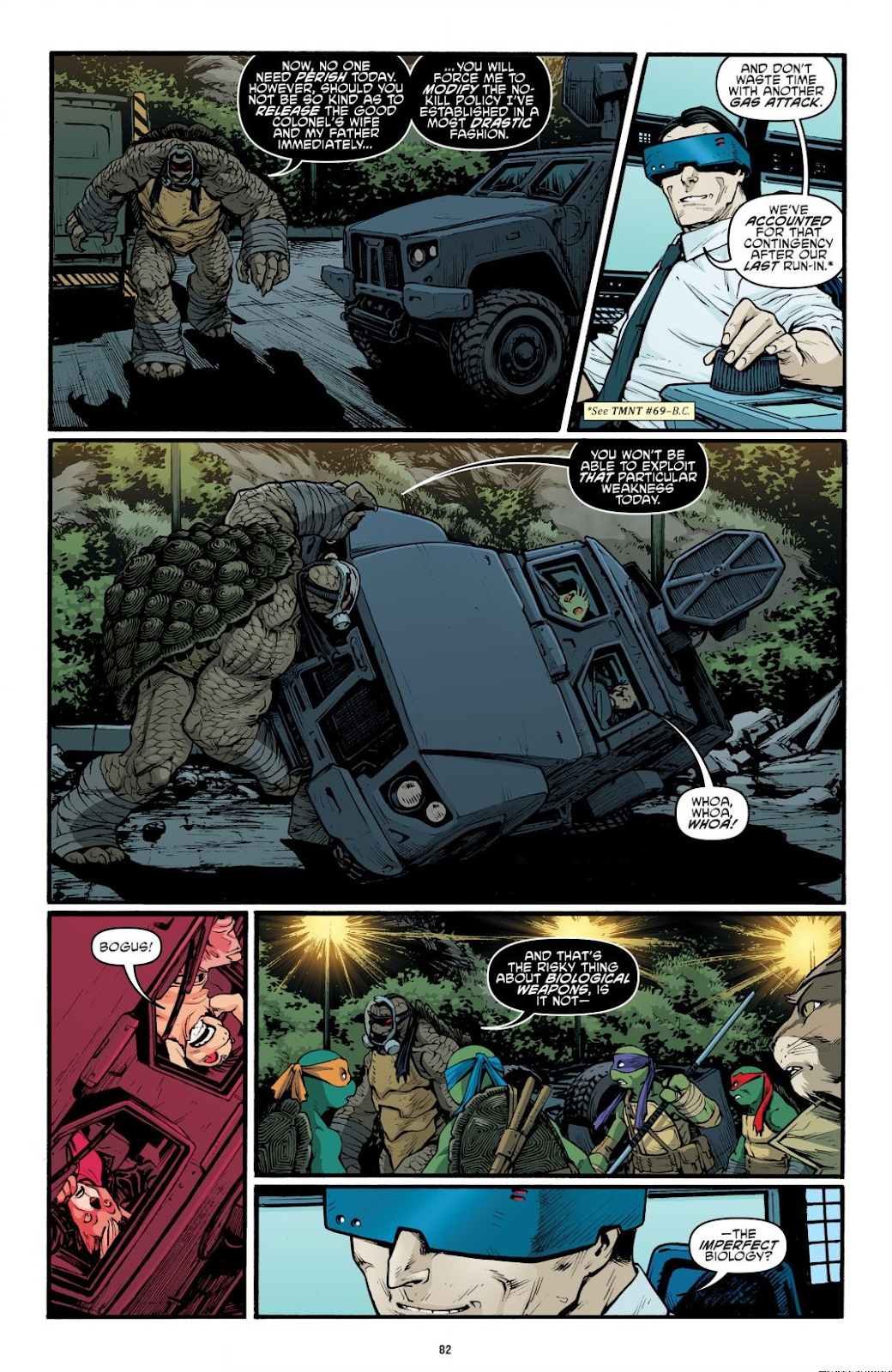 Read online Teenage Mutant Ninja Turtles: The IDW Collection comic -  Issue # TPB 9 (Part 1) - 83
