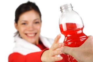 Hindari minuman olahraga