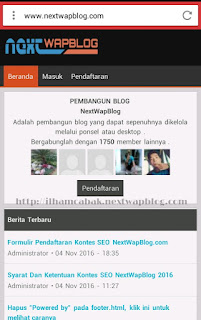 berkarya tanpa batas dengan nextwapblog.com