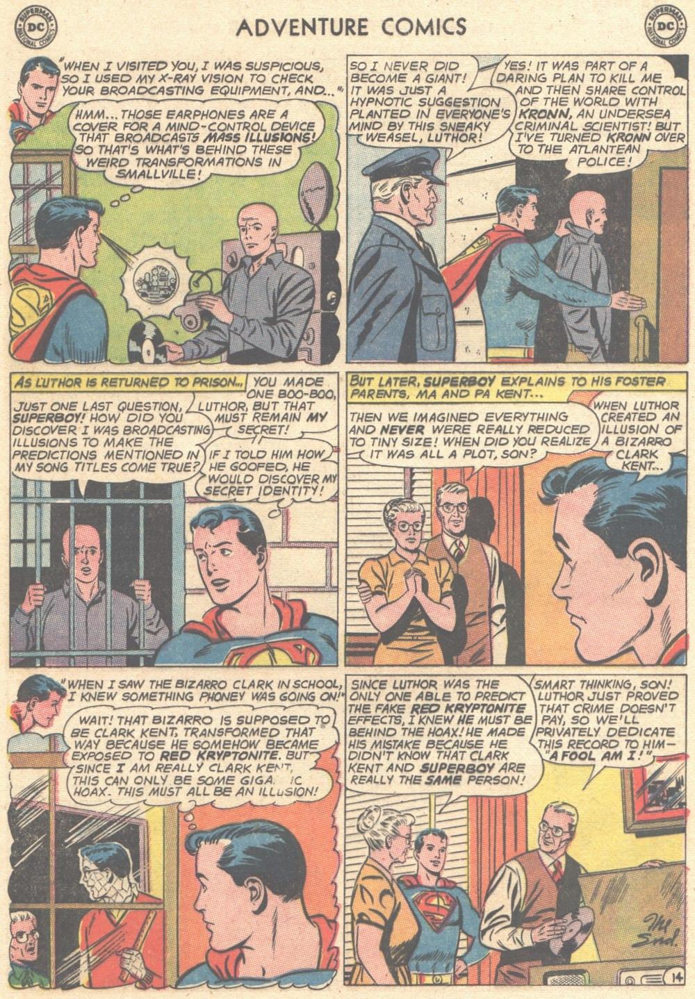 Read online Adventure Comics (1938) comic -  Issue #308 - 15