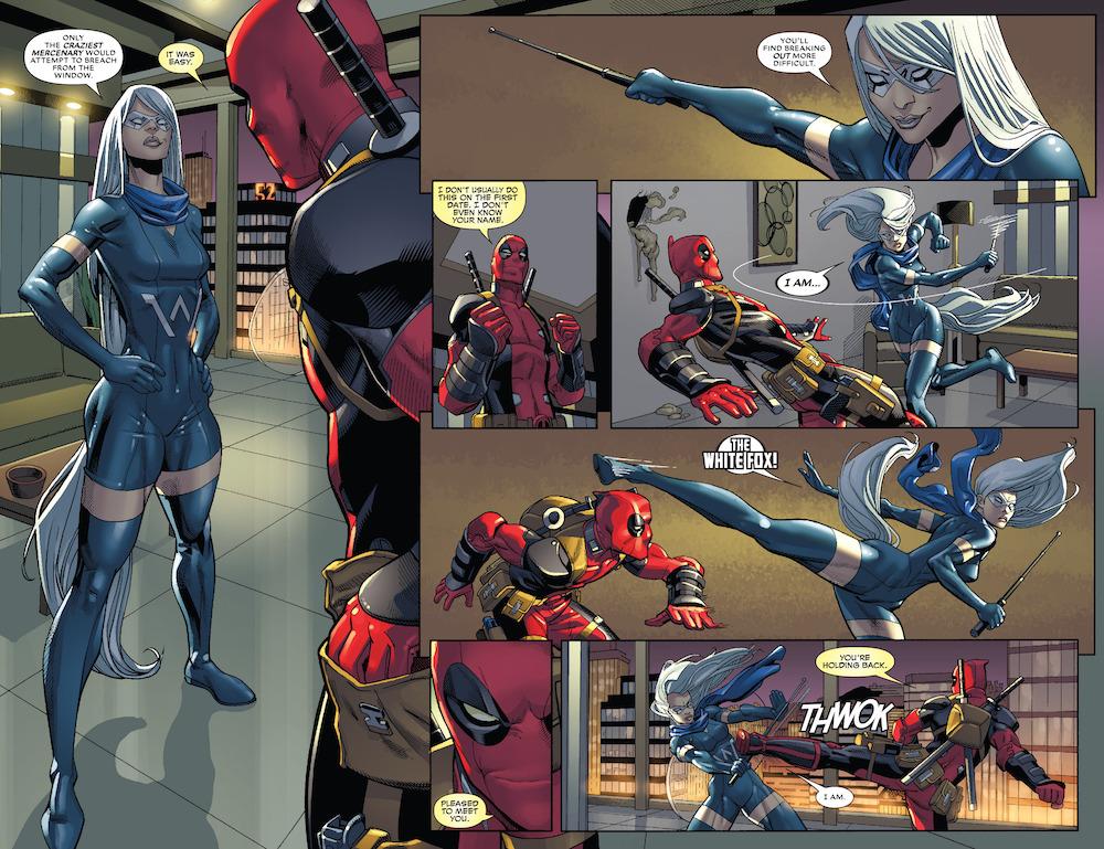 Deadpool (2016) #1 Page 4-5-6