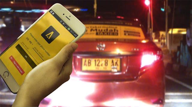 Taxies aplikasi taxi online