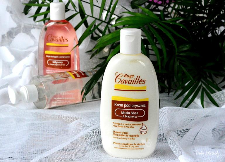 Rogé Cavaillès Krem pod prysznic masło Shea & Magnolia