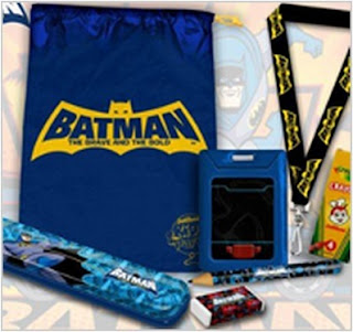 Jollibee party package - Batman Theme loot bag