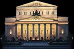 Fachada del Teatro Bolshói de Moscú
