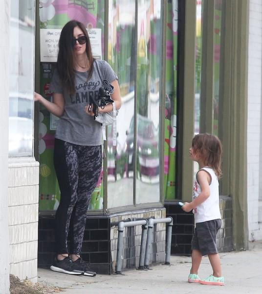 Megan Fox Wears Marika Leggings Fashion Blog By Apparel Search