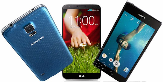 Blogging Tips: Samsung Galaxy S5 vs Sony Xperia Z2 vs LG G2 Specs Comparison