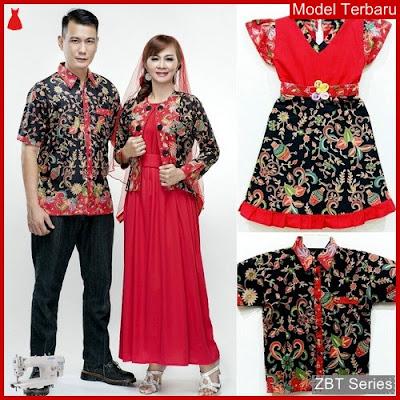 ZBT08109 Kebaya Batik Couple Azizah Gentong Setelan BMGShop