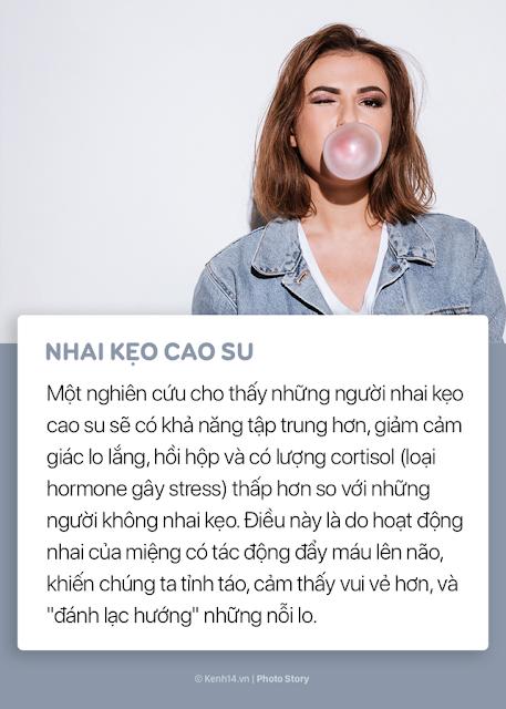 Mẹo nhỏ để giảm stress