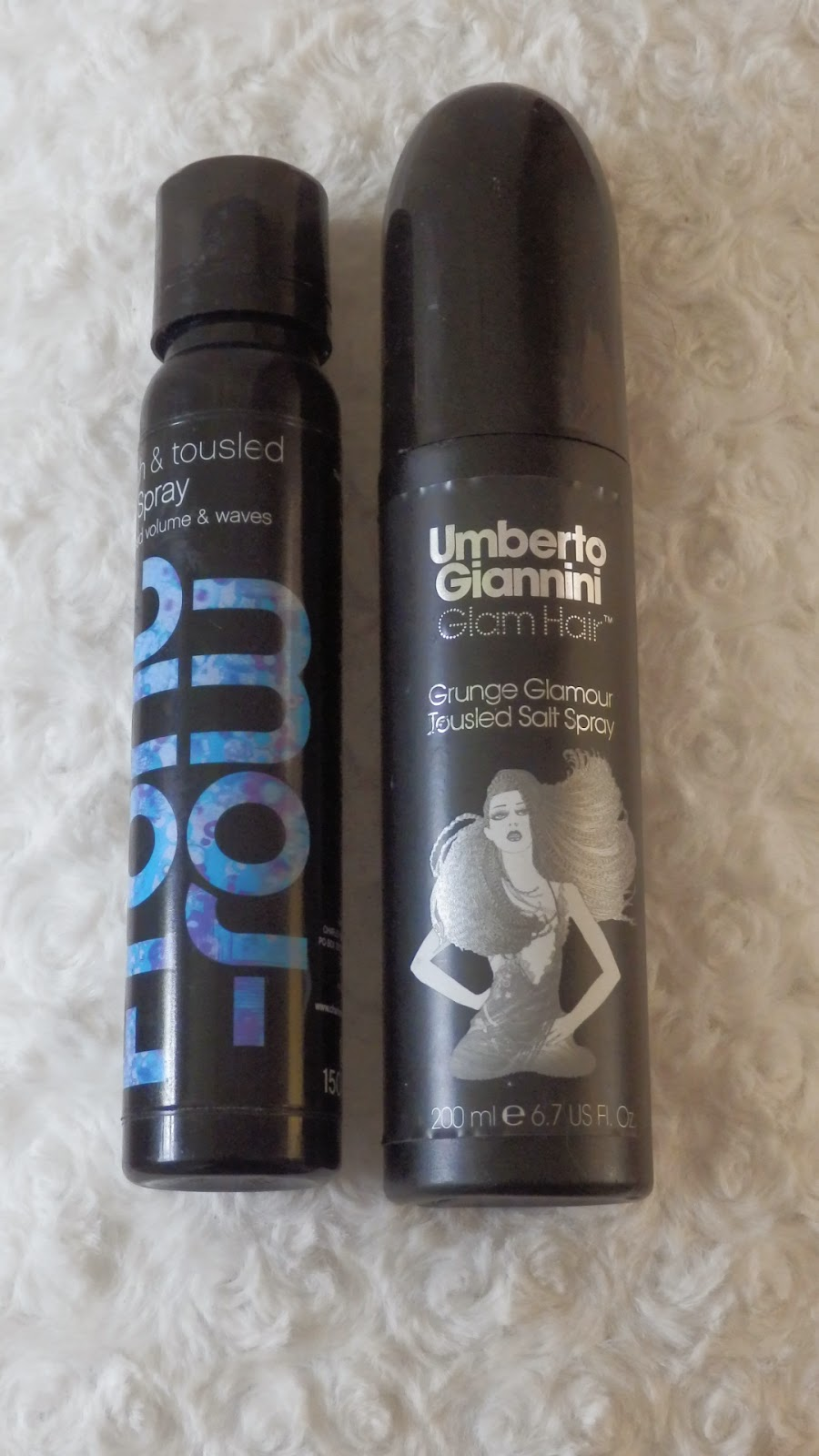 Sea Salt Spray Charles Worthington Rough & Tousled Salt Spray & Umberto Giannini Grunge Glamour Tousled Salt Spray