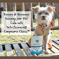 vetriscience composure giveaway