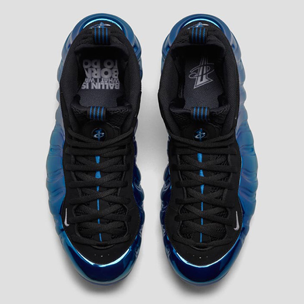 huge discount 14bf7 92393 Nike Air Foamposite One Premium. Metallic Silver, White, Dark Neon Royal,  Black. 575420-008. Since 1997, the Air Foamposite One has been introduced  in ...