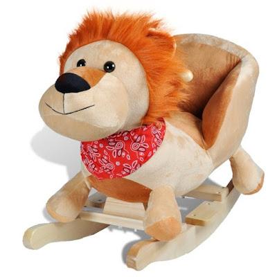 schommelpaard schommel leeuw