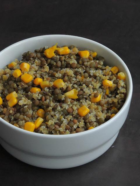 Quinoa & Lentils Salad