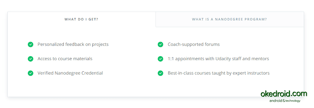 Benefit Nanodegree Program by Udacity