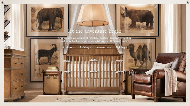 Restoration Hardware Safari Bedding
